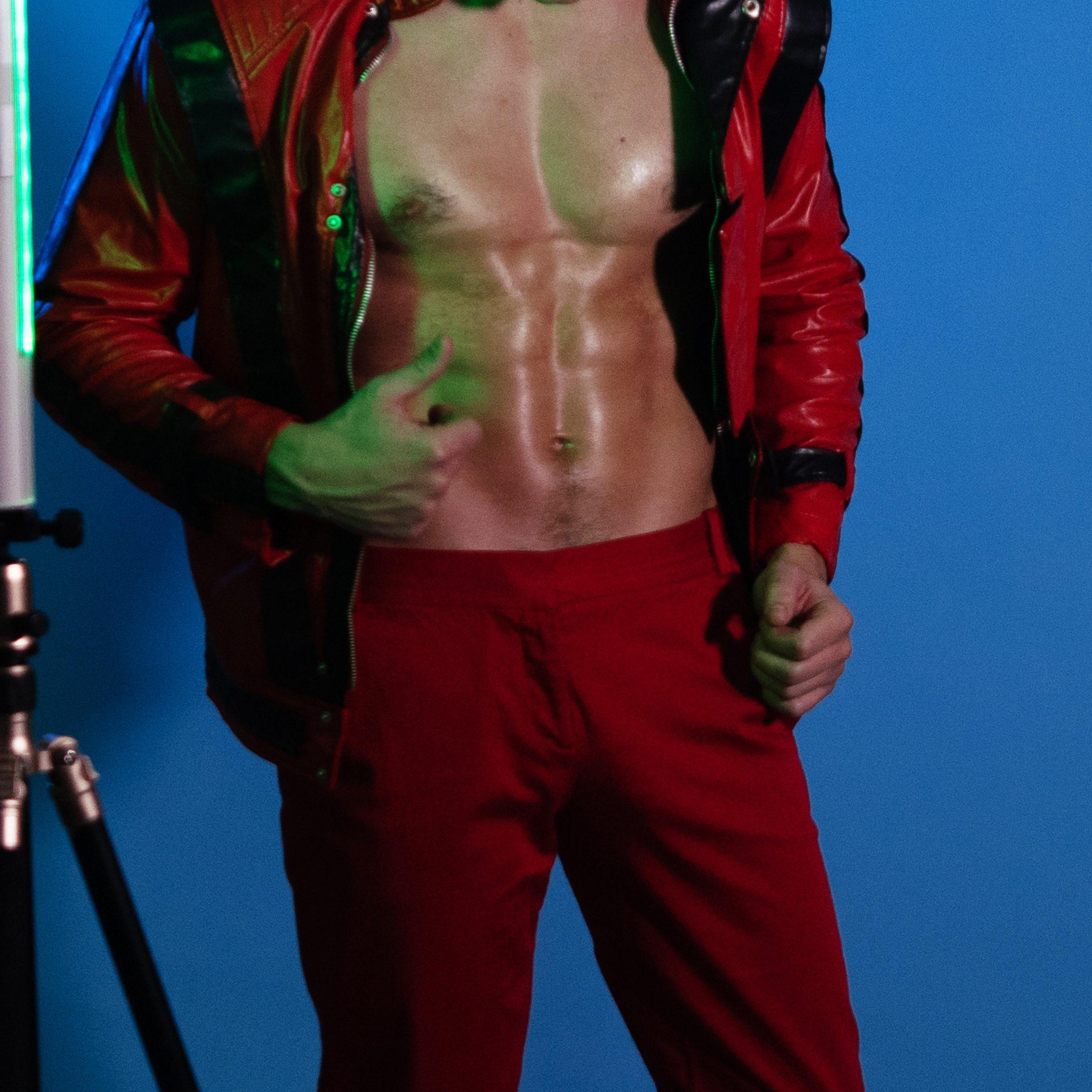 Topless Waiter Theo
